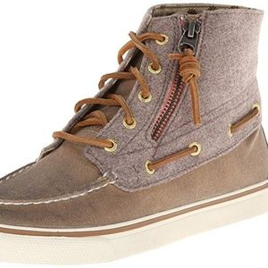 SPERRY Betty Zip Burnished Canvas Chukka Boot 8M